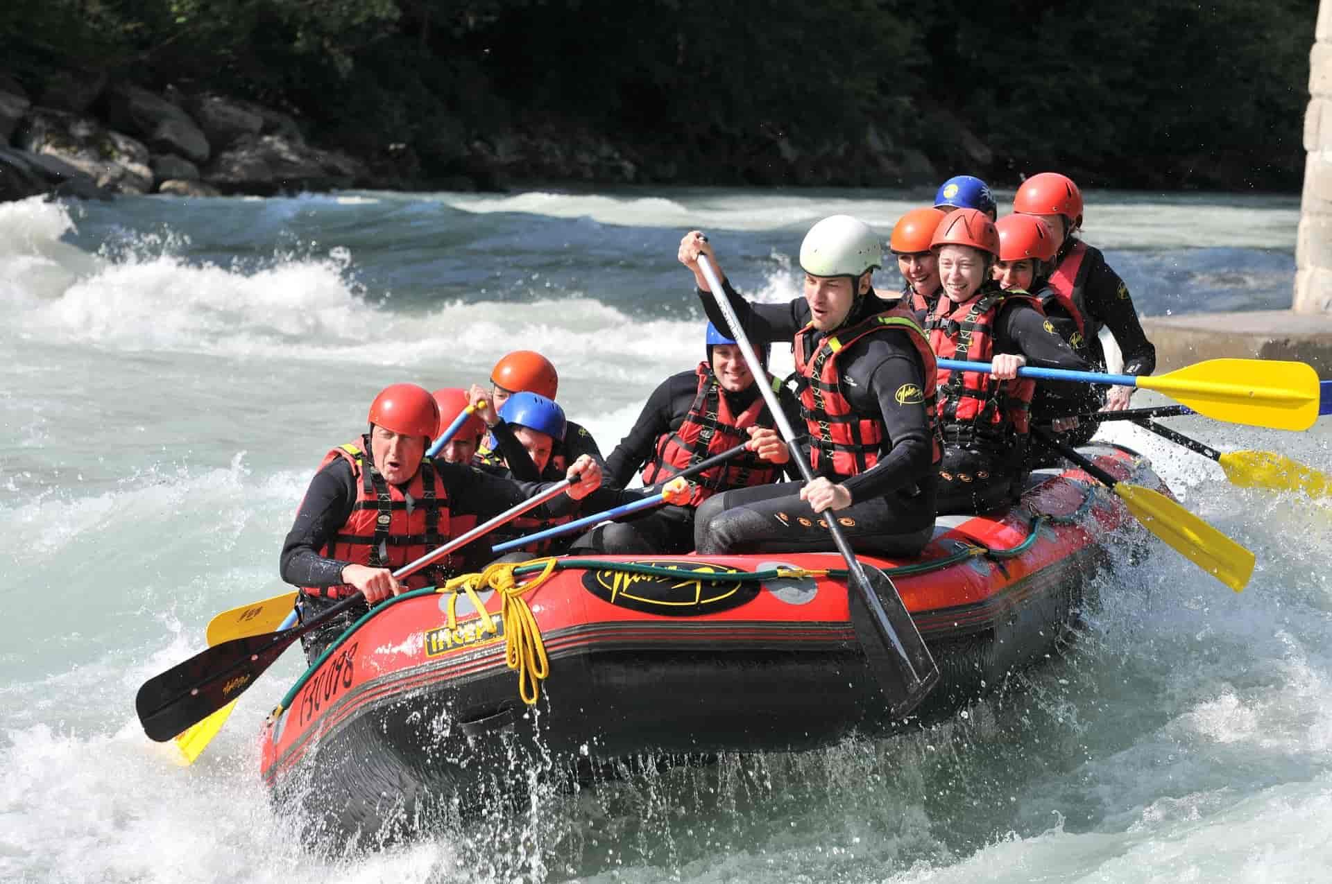 Actividades de aventura- rafting