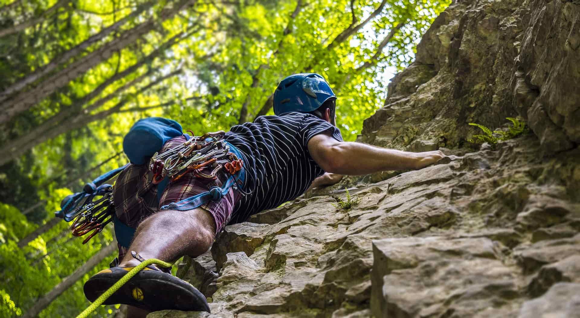 Actividades de aventura- escalada